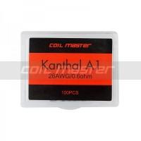 Coil Master Kanthal Coil Prebuilt 0.6ohm 26awg khantal kantal A1
