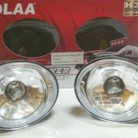 Lampu Foglam / Lampu Kabut Taruna Oval DLAA Kaca Putih