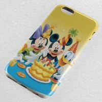 mickey minnie donald birthday cake iPhone Case & All Case HP