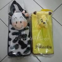harga Tempat Tissue Gantung Boneka Sapi / Pikachu Tokopedia.com