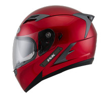 Helm INK Duke Full Face Fullface Red Solid Visor Merah