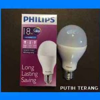 harga Lampu Bohlam LED Philips 18 Watt (Putih/Cool daylight) Tokopedia.com