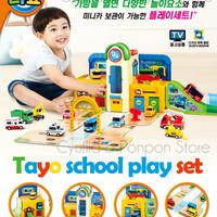 The Little Bus Tayo Play Set School   Tayo