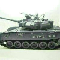 ZEGAN RC TANK ARMY RUSIA T90 1/18