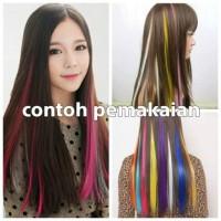 Hair Clip Kecil MiniHairclip Rambut Palsu Wig Fashion Warna Warni