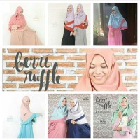 Berri ruffle Size M / Hijab alila