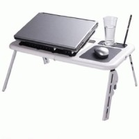 Meja Laptop Lengkap Bisa Dilipat