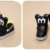 harga sepatu mickey anak / sepatu led / sepatu lampu keren / sepatu pantofel Tokopedia.com