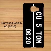 harga Custom Name Plat Nomor Custom Case Samsung Galaxy A3 2016 Tokopedia.com