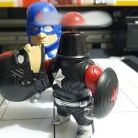 Captain America Kipas Angin Pajangan Kaos Casing Captain America