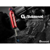 GM20601 GMANDE G-TRANSITION 90mm and 107mm Shock Red (4) for RC Car