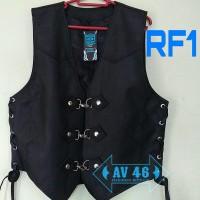 Rompi Bikers Koboy / Rompi Motor / Rompi Kulit sintetis Korea