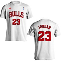 Baju Kaos Basket Nba Gametime Chicago Bulls Michael Jordan 23 Baru