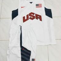 Jersey Setelan Baju Basket NBA - USA