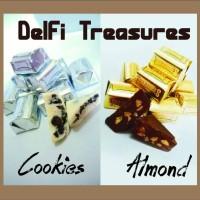 Jual Coklat Delfi Treasure Almond & Cookies Murah