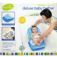harga Mastela Deluxe Baby Bather Blue - Alat Bantu Bayi Mandi / Kursi Mandi Tokopedia.com