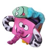 Mainan edukasi anak bayi balita unik, Kubus meraba mengenal Binatang