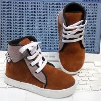 harga 3 4 5 6 tahun sepatu boots bludru coklat casual anak keren SKU-HQJ01 Tokopedia.com