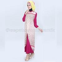 Gamis Gaya Vintage Modern/Baju Muslim Wanita 2016 Model MURAH