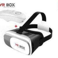 vr box 3d glasses vr headset +game controller virtual reality