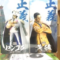 Sengoku and Kizaru Set Banpresto Dx Figure Vol 1 Ori Japan Ver