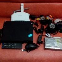 Paket Cctv 4 Channel Online Modem Usb ( 1 Indoor & 1 Outdoor )