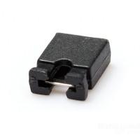 10 x 2.54mm Black Close Type Mini Jumper for Pin Header