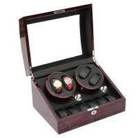 Jual Watch Winder Prestige Wood Automatic Watchwinder (4+6) Pemutar Jam Murah