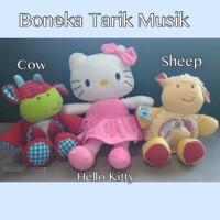 boneka tarik musik elc / mainan musik bayi