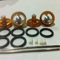Tamiya # Velg Dokar Almunium 22mm Orange - Shinjiro - Ban Tamiya