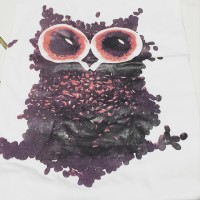 Jual Tumblr Tee - Kaos - OWL - Putih Murah