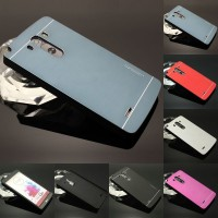 LG G3 Stylus  Motomo Brushed Metal Hard Back Cover Casing Case