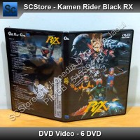 DVD Ksatria Baja Hitam RX / Kamen Rider Black RX