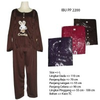 Baju Tidur Wanita Cute Rabbit 2200