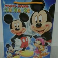 tas tenteng / goody bag / tas souvenir ulang tahun mickey mouse
