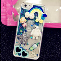iphone 6 / 6s Hardcase Casing Glitter Naik Turun 3D Clay