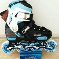 Jual Sepatu Roda LYNX BM 135 Blue Murah