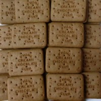 Biscuit Cream Coklat Khong Guan kiloan 500gr