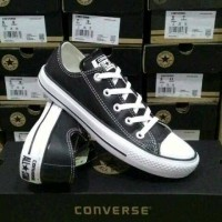 Sepatu Converse All star kulit ox pendek