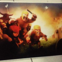 POSTER GAME CLASH OF CLANS