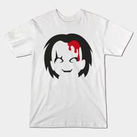 Tshirt Chucky Doll - Putih