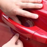 Jual stiker pintu mobil / Car Vinyl Stickers Universal Door transparan A979 Murah