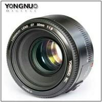 harga Lensa Fix Yongnuo Ef Yn-50mm F 1,8 Forr Canon Tokopedia.com
