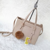 Tas Michael Kors East West Mini/Tas MK East West Mini (Cream)