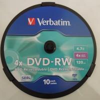 DVD-RW Verbatim 4x 4.7GB