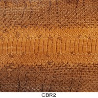 Bahan Kulit Ular Air / Cobra Asli Coklat CBR2