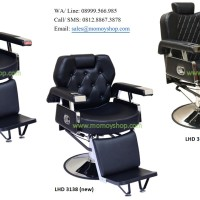 Kursi Barber Hidrolik Import LHD 3137, LHD 3138, LHD 3139