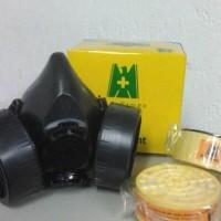 Masker Blue eagle NP306 + Filter anti asap gas kimia