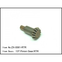 ZX-0061-RTR RC Car Caster Racing 13T Pinion Gear 1/8 EP Buggy EX-2.0