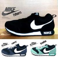Nike Md Runner Sepatu Kets Casual Running Olahraga Pria Wanita Warna H
